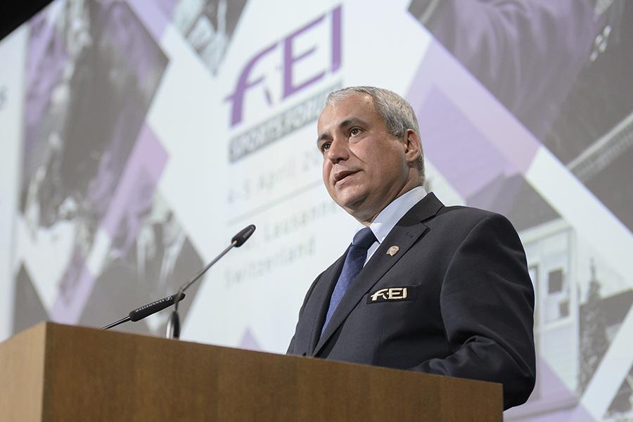 FEI Sports Forum™ 2016 FEI President Ingmar De Vos