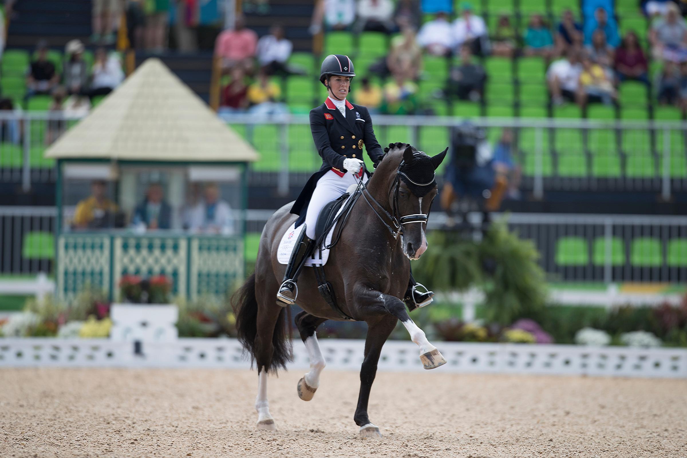 Valegro i charlotte dujardin gwiazdami olimpijskiego for Charlotte dujardin
