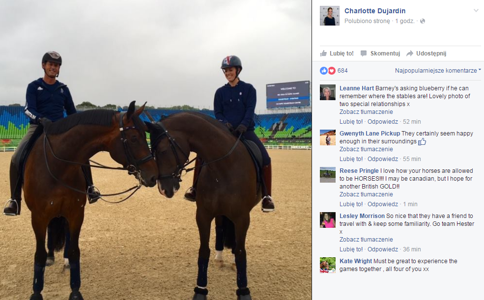 Charlotte Dujardin i Carl Hester (GBR).