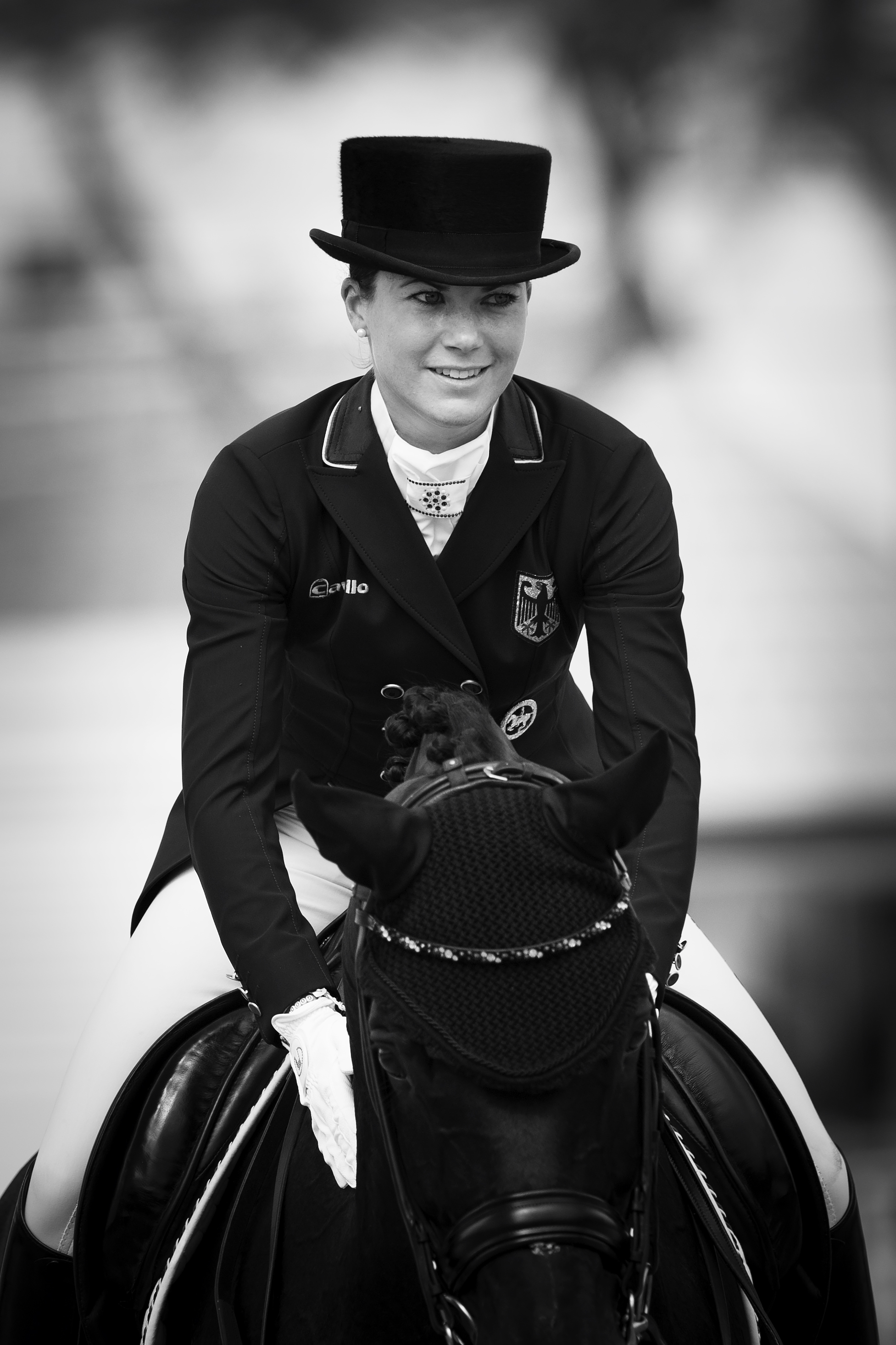 Horse Inspection COUNTRY DAY 5 OLYMPIC GAMES RIO Dressage Individual . Grand Prix. GER BRORING-SPREHE Kristina Pic Richard Juilliart