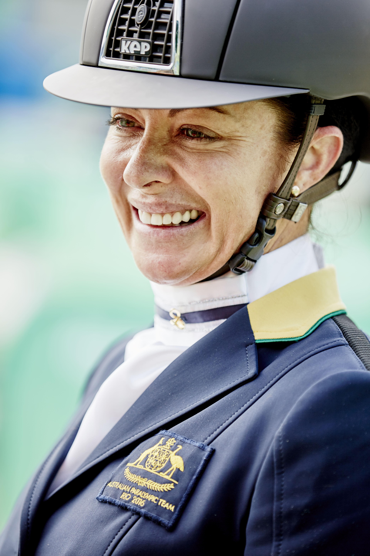 Katie-Maree Umback (AUS). Fot. Liz Gregg/FEI.
