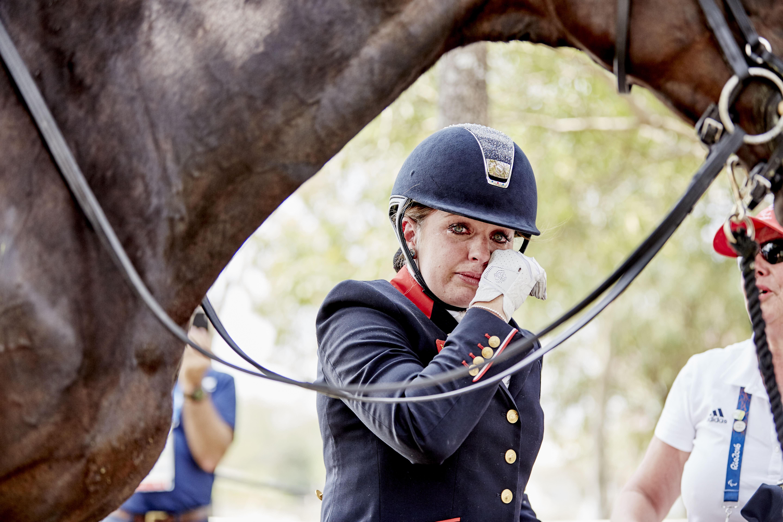 Natasha Baker (GBR). Fot. Liz Gregg/FEI.