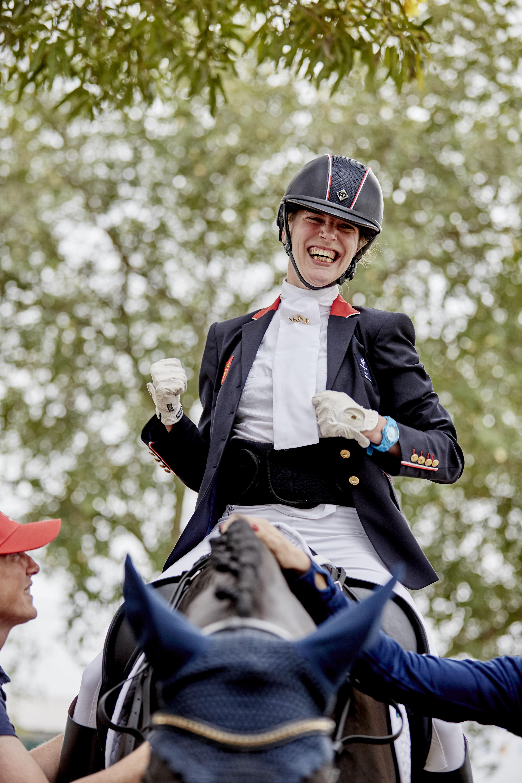 Sophie Christiansen (GBR). Fot. Liz Gregg/FEI.