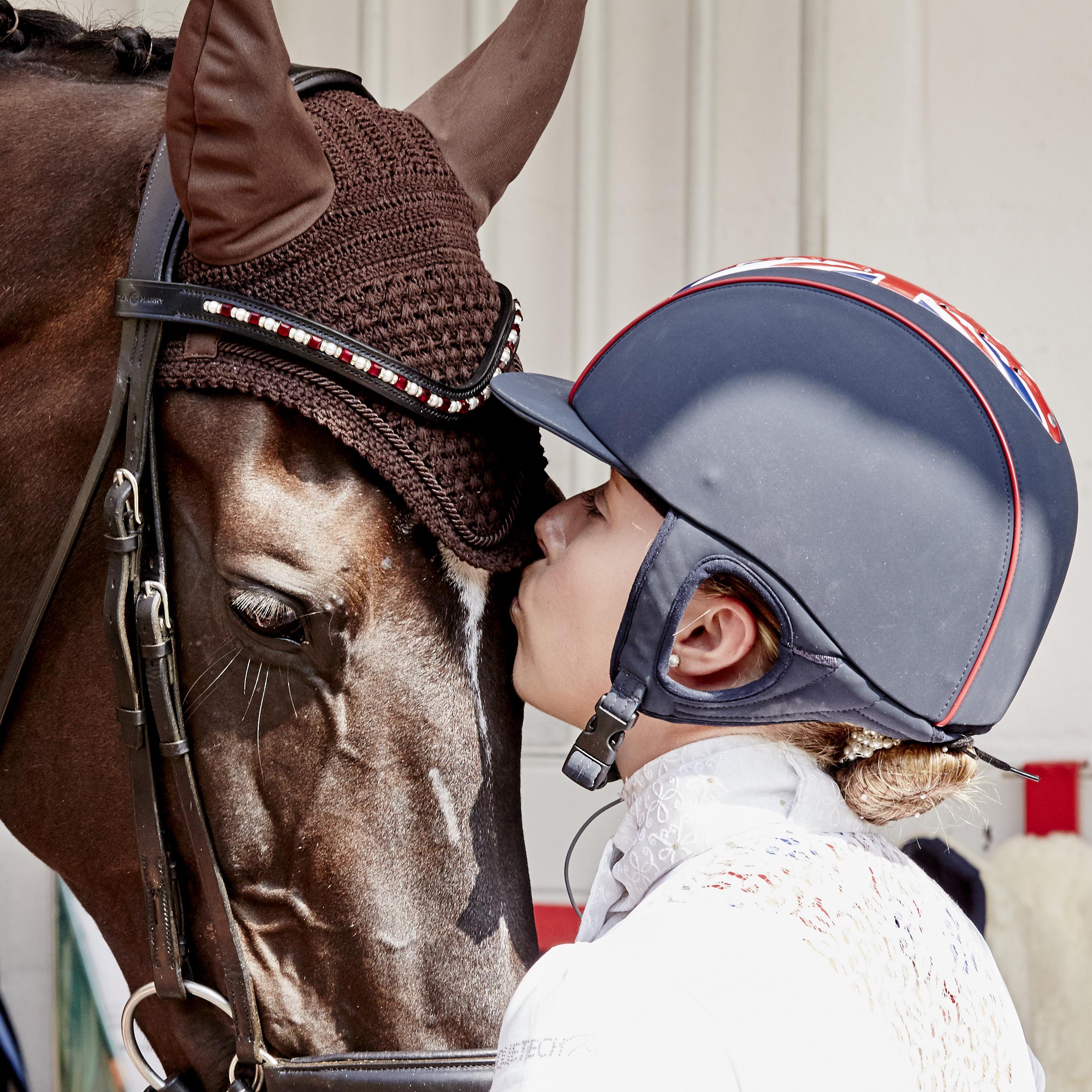 Sophie Wells (GBR) i koń Valerius. Fot. Liz Gregg/FEI.