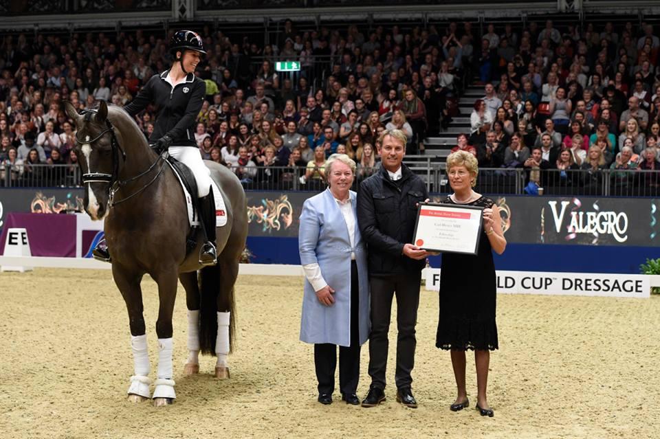 Źródło: Facebook - Olympia, The London International Horse Show
