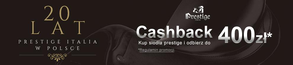 20 lat Prestige Italia w Polsce - Cashback do 400 zł za zakup siodła