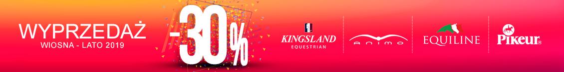 Jeździecka wyprzedaż letnich kolekcji Kingsland, Pikeur, Equiline, Animo Italia i Eskadron w Equishop