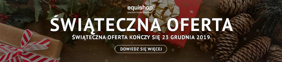 Świąteczne oferty jeździeckie w Equishop